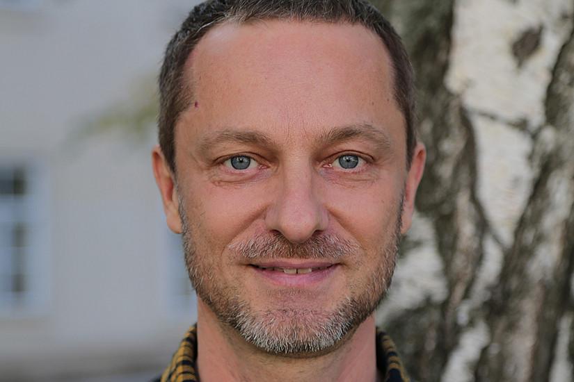Gunther Kaltenböck ist seit dem Vorjahr Professor für englische Sprachwissenschaft an der Universität Graz. Foto: Martha-Charlotte Viola