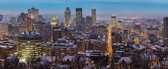 (c) Wikipedia-User Diliff https://de.wikipedia.org/wiki/Montreal#/media/File:Montreal_Twilight_Panorama_2006.jpg