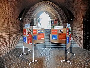 Wanderausstellung in der Herz-Jesu-Kirche - Foto: Ursula Pichler