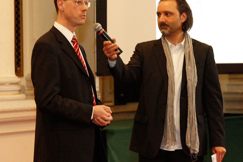 Univ.-Prof. Dr. Rainer Niemann beleuchtete aus Sicht des Senats die Rolle des Leitungsgremiums.