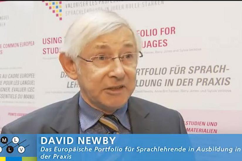 David Newby spricht über EPOSA, das weltweit einzigartige Tool der Selbstbewertung für Sprachlehrende.