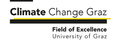Logo: Climate Change Graz - Field of Excellence, University of Graz