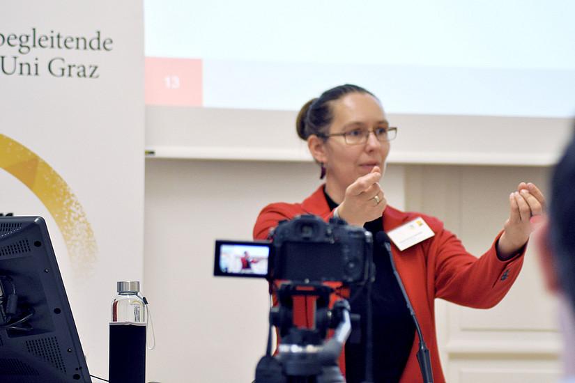 Business Brunch: Viktoria Pammer-Schindler über Digitalisierung als Treiber, der Druck ausübt