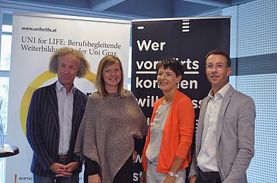 Pressekonferenz Schulpsychologie UNI for LIFE