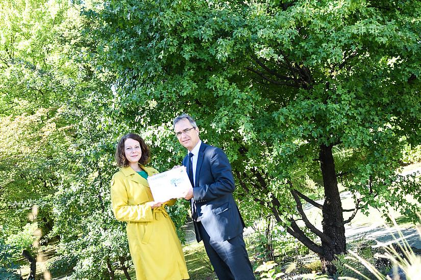 Prominente SpenderInnen wie die Grazer Umweltstadträtin Tina Wirnsberger ...
