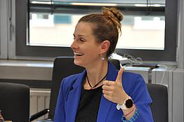Mag. Barbara Bednarz, Team 5. Forum