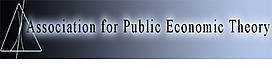 Association for Public Economic Theory
