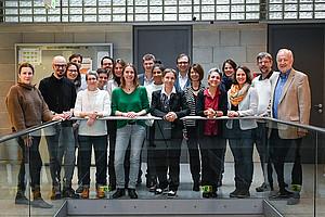 Das Grazer Arqus Team steht in engem Kontakt mit VertreterInnen der sechs weiteren Partneruniversitäten innerhalb der Hochschul-Allianz. Foto: Uni Graz/Tzivanopoulos.