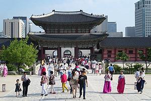 Seoul, Gyeongbok Palast