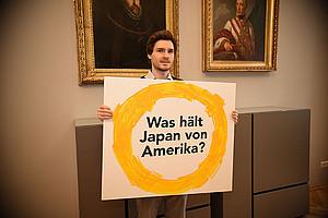 Was hält Japan von Amerika? Dieser Frage ging der Amerikanist Christian Perwein in seiner Masterarbeit nach. Alle Fotos: Uni Graz/Leljak.