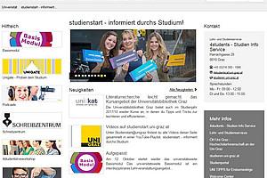Die brandneue Homepage ist seit September online. Foto: Uni Graz