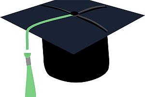 Damit DoktorInnen nicht den Hut nehmen müssen: Uni Graz lädt zur Online-Diskussion über Plagiatsaffairen und mögliche Reformen. Illustration: Pixabay