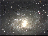 Galaxie M33, am 29.09.2014