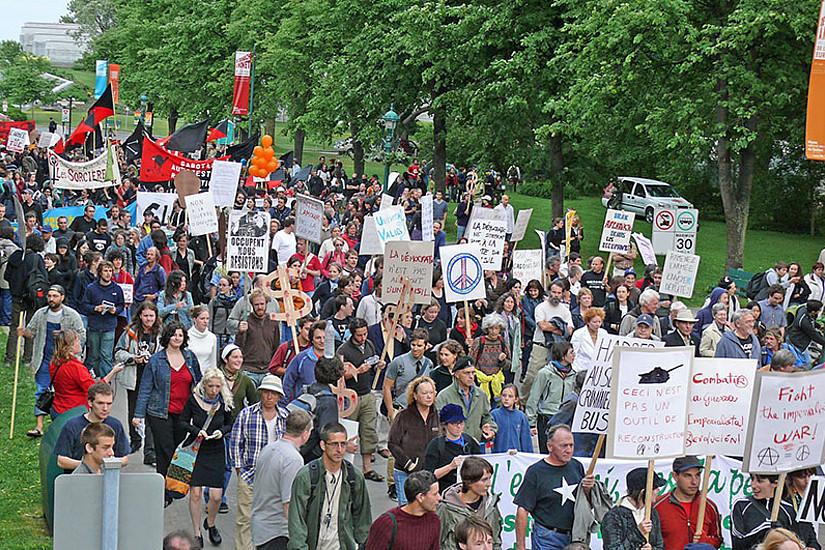 Visuelle Ausdrucksformen sind aus Protestbewegungen nicht wegzudenken. Foto: Edgar Zessinthal/flickr.com