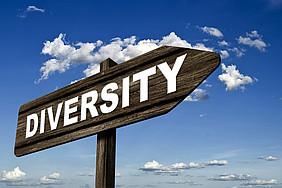 Foto: Pixabay.com/Geralt Wegweiser zu Diversität