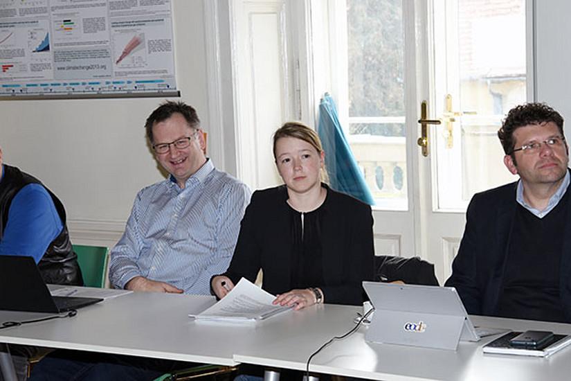 Bei GEOCLIM arbeiten ForscherInnen der Uni Graz, der BOKU, der Technischen Universitäten Graz und Wien, der Uni Wien, der ZAMG, des Earth Observation Data Centre und des Datenzentrums des Climate Change Center Austria zusammen.