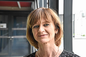 AKGL-Vorsitzende Maria Elisabeth Aigner im Interview. Foto: Uni Graz/Tzivanopoulos