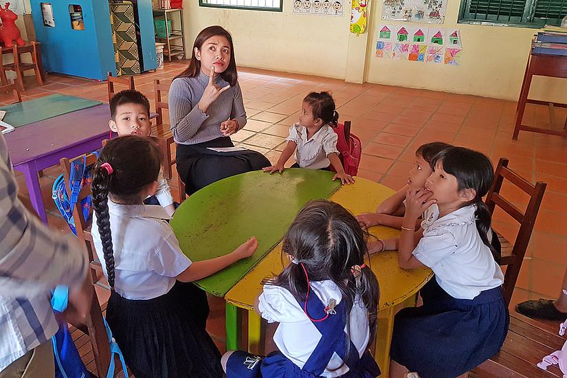 Schulkindern in Südostasien eine bessere Zukunft zu geben ist Ziel des Projekts CONTESSA. Foto: Contessa