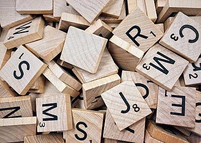 Scabble, Buchstaben, Deutsch als Fremd- und Zweitsprache bei UNI for LIFE