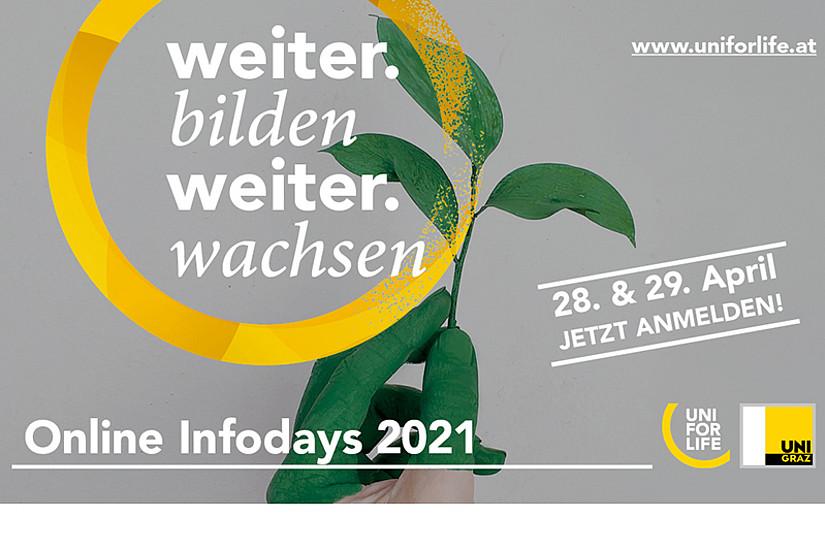 Am 28. und 29. April 2021 können alle Interessierten jeweils von 16 bis 19 Uhr bei den UNI for LIFE Online Infodays ihren Wissensdurst löschen. Foto: Uni for Life.