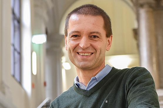 Christof Gattringer, Vizerektor für Forschung und Nachwuchsförderung ab 1. Oktober 2019. Foto: Uni Graz/Tzivanopoulos