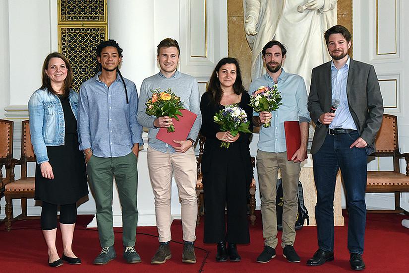 Uni Graz, Aula, USW Award, Masterarbeiten, USW-Award