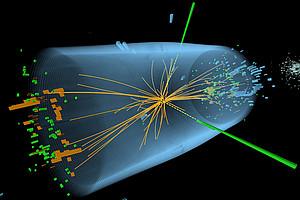 Das Higgs-Teilchen, auch Gottesteilchen genannt. (Bild:CERN/ATLAS and CMS)