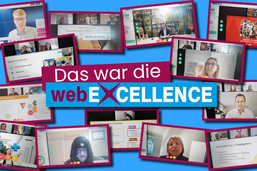 Die webEXCELLENCE feierte dieser Tage ihr Online-Debüt. Die größte Karrieremesse im Süden Österreichs, die von der Uni Graz veranstaltet wird, lockte 1300 Job- und Karriereinteressierte an. Foto: Career Center