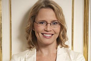 Ministerin Beatrix Karl an der Uni Graz. Foto: BMJ.