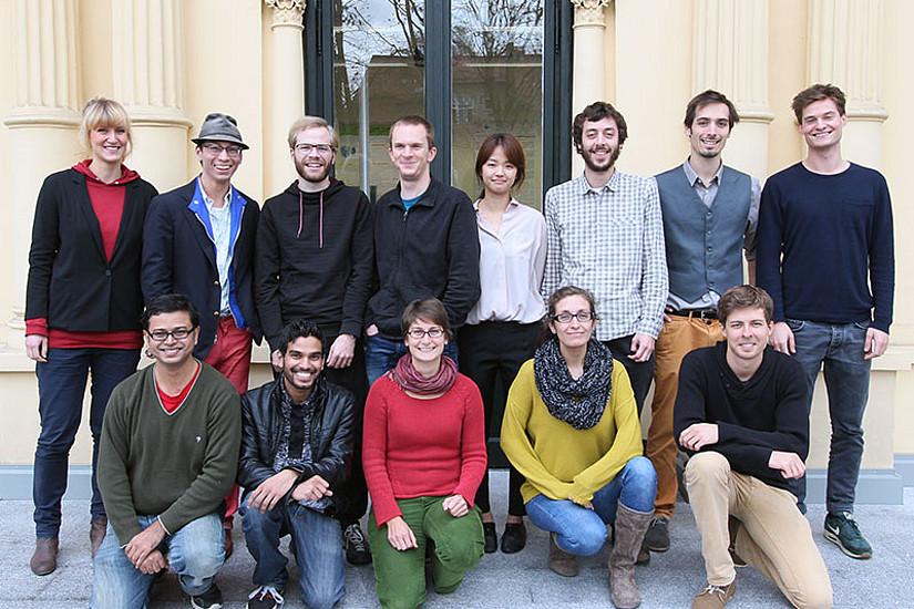 13 Studierende aus sieben Ländern sind aktuell im DK Klimawandel angestellt.