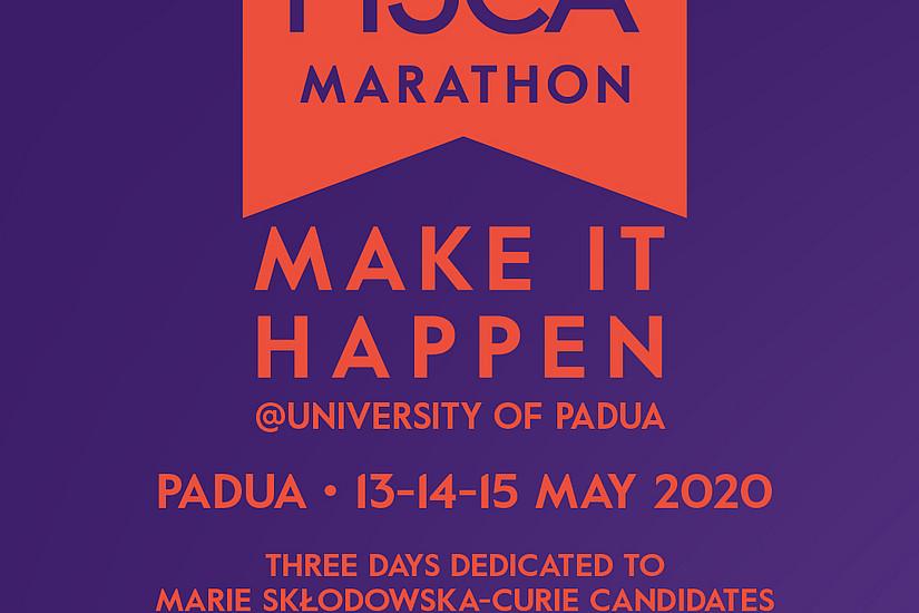 MSCA Marathon / Foto: Uni Padua.