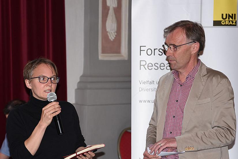 """Karin Ondas, Generalsekretärin des Verbands """"Sozialwirtschaft Steiermark – Für Menschen mit Behinderung"""" unterstrich die Bedeutung des Themas."""