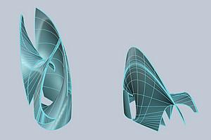 Zahlen in Design übersetzt: in einem außergewöhnlichen Forschungsprojekt kooperieren MathematikerInnen mit KünstlerInnen. Grafik: Uni Graz/Friebel