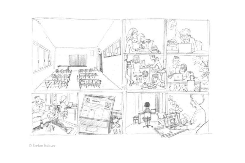 Gestaltung des Comics: Stefan Palaver