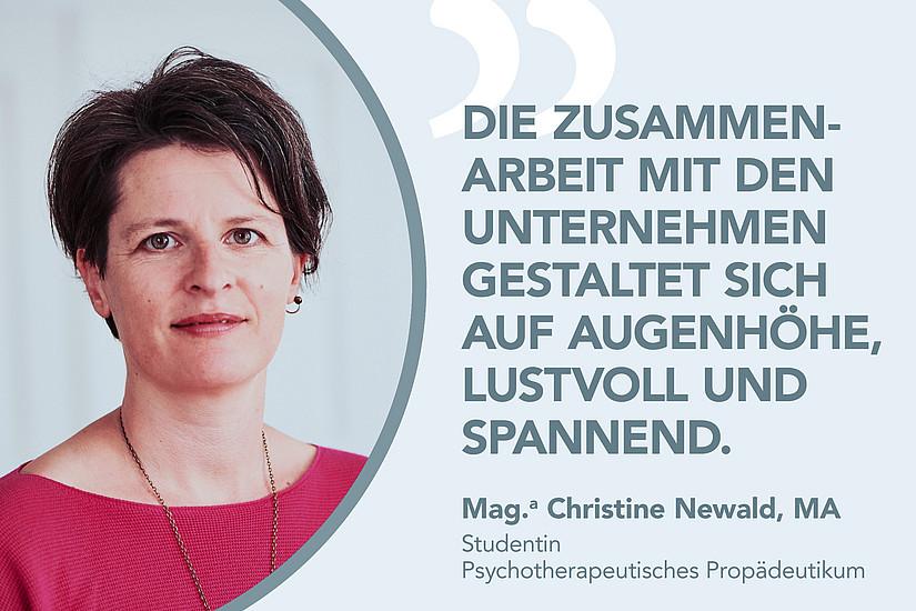 Mag. Christine Newald, MA über DIM