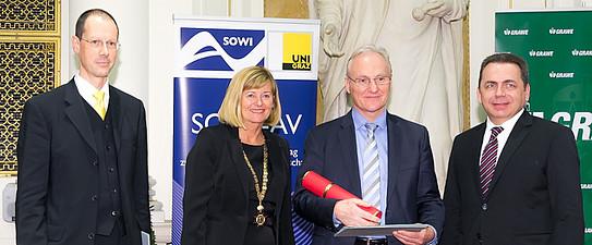 Verleihung des Ehrendoktorats an Univ.-Prof. Dr. Ernst Fehr