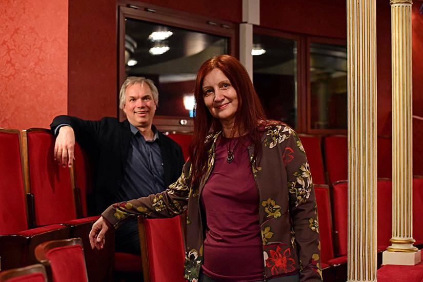 Peter Schneider und Annemarie Seither-Preisler erforschen die Wirkung des Musizierens auf Gehirnentwicklung und Lernerfolg. Foto: Uni Graz/Tzivanopoulos
