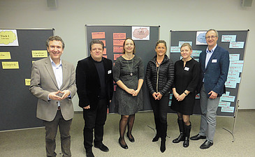 Sascha Ferz, Klaus Hatzl, Karin Sonnleitner, Petra Preining, Maria Scheschy-Prechtl, Gerhard Führer - Foto: Link