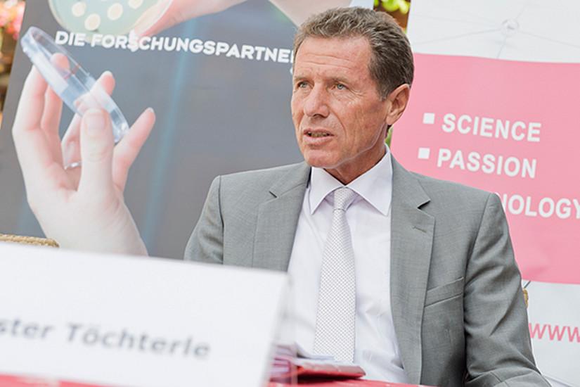 Minister Karlheinz Töchterle ...