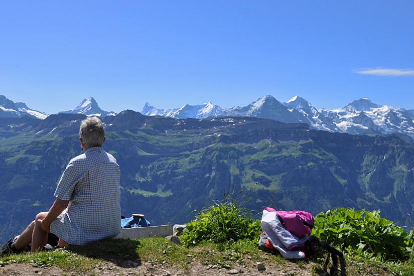 Bis ins hohe Alter aktiv sein: WissenschafterInnen aus Graz und Berlin fanden ein natürliches Mittel gegen Demenz. Foto: berggeist007/pixelio.de