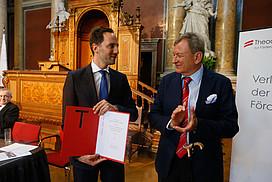 Überreichung Herbert Tumel Preis