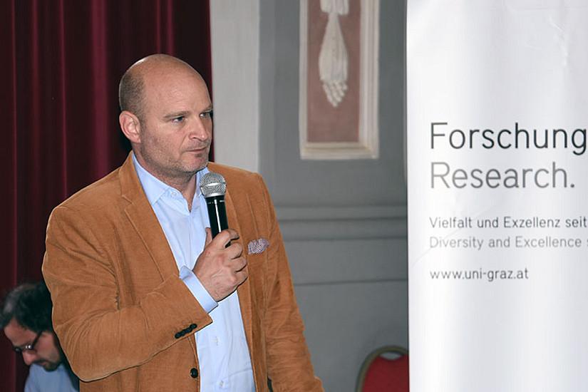 Gemeinderat Andreas Molnar überbrachte Grüße von Bürgermeister Siegfried Nagl.