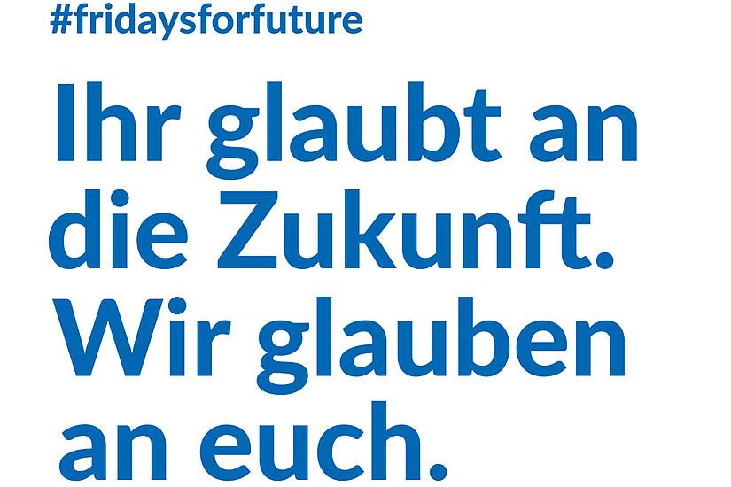 """""""Gemeinsam für den Klimaschutz"""" hieß die Devise bei der heutigen Demo im Rahmen von #fridaysforfuture in Graz. Foto: Industriellenvereinigung"""