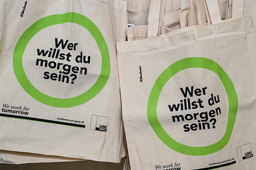 Wer willst du morgen sein? Unter diesem Motto läuft der Welcome Day bereits seit vergangenem Jahr. Fotos: Uni Graz/Tzivanopoulos