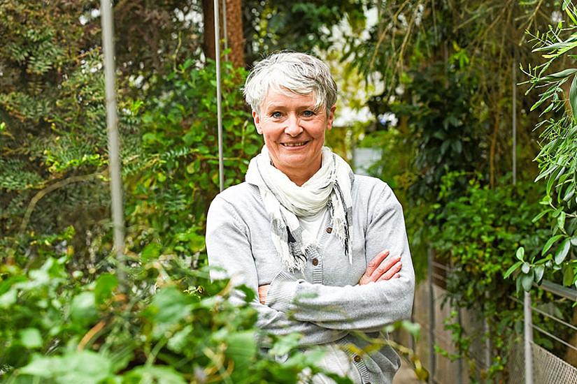 Claudia Traunmüller beschäftigt sich mit Stressforschung und Gesundheitspsychologie, speziell auch mit Belastungen in der Covid-Krise. Foto: Uni Graz/Tzivanopoulos