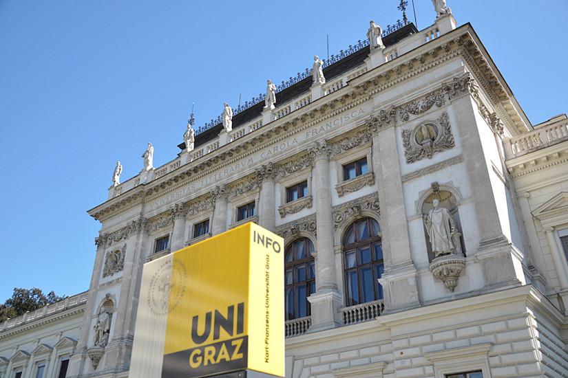 Hauptgebäude der Uni Graz. Foto: Uni Graz/cp-pictures