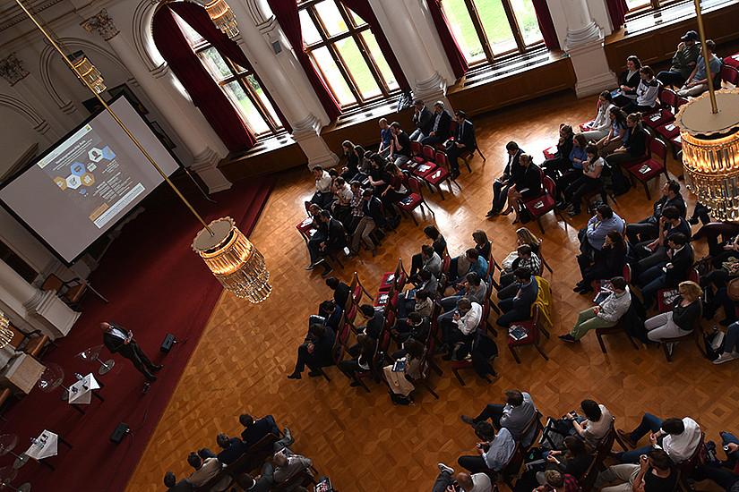 Großes Interesse, großes Potenzial: Venturepreneurship sorgte für eine volle Aula. Foto: Uni Graz/Schweiger