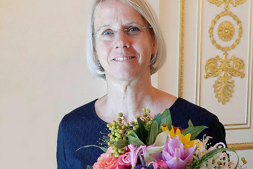 Renate Ortlieb wurde für ihre Forschung mit dem Käthe-Leichter-Preis 2018 geehrt. Foto: Regina Aigner