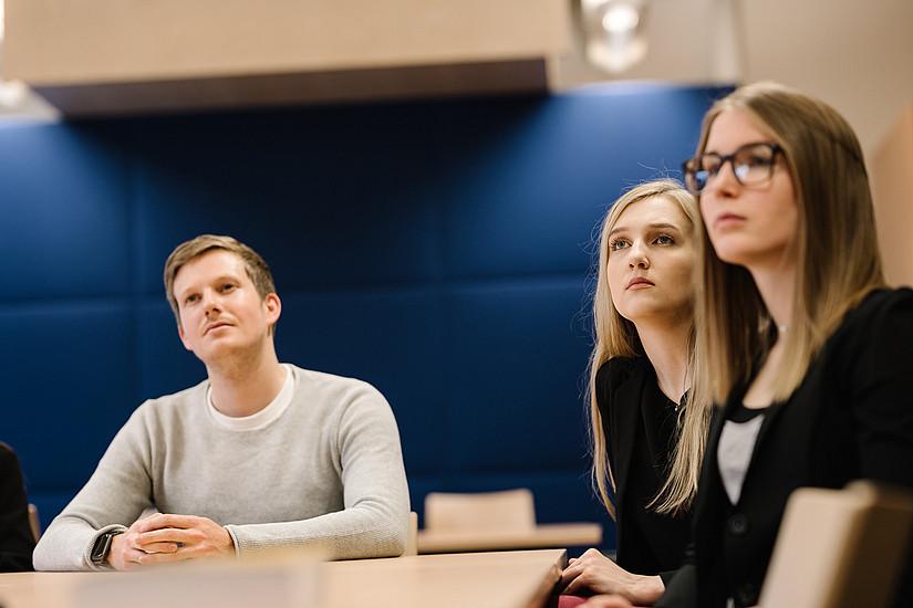 """639 BewerberInnen traten beim Aufnahmeverfahren """"Lehramt"""" an der Universität Graz an. Foto: Uni Graz/Kernasenko"""