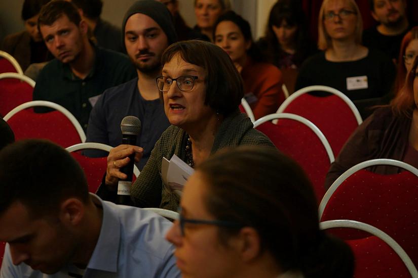 Roberta Maierhofer, C.IAS Uni Graz; Picture Credit: Kulturverein Kunstkessel